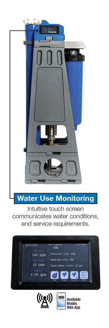 HANS Premium Water Wireless Technology